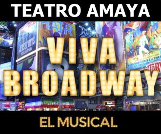 Viva Broadway, el Musical-background