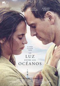 Cartel de la película La luz entre los océanos