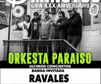 2 Minutos + Orkesta Paraiso + Ravales