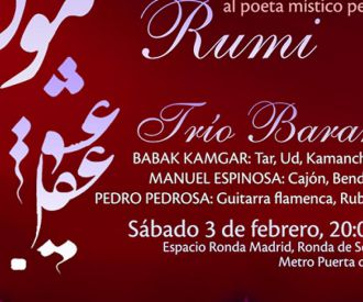 Amor y Mente, un concierto dedicado al poeta persa Rumi