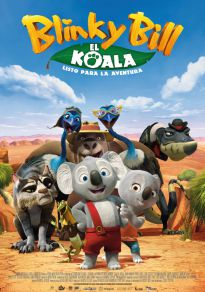 Cartel de la película Blinky Bill, El Koala