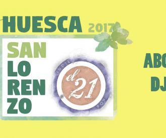 ABONO DJs - Fiestas de Huesca 2017