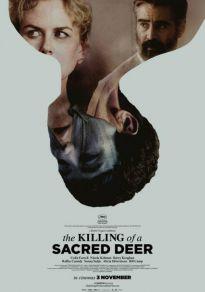 Cartel de la película El sacrificio de un ciervo sagrado