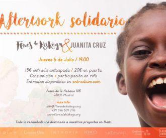 Afterwork Solidario Flores de Kiskeya
