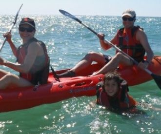 Excursión en kayak Punta de Sitges