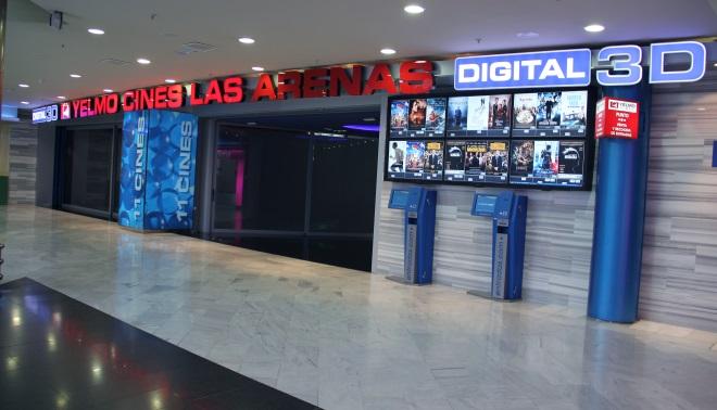 Cartelera de yelmo cines las arenas las palmas de gran for Yelmo cines barcelona