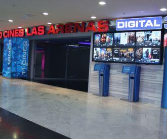 Cartelera de yelmo cines las arenas las palmas de gran Cartelera de cine barcelona