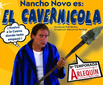 El Cavernícola - Nancho Novo-background