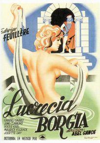 Cartel de la película Ópera Lucrezia Borgia