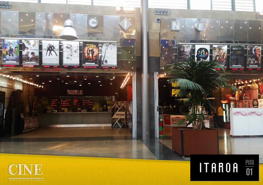 Cartelera De Cines Itaroa Pamplona
