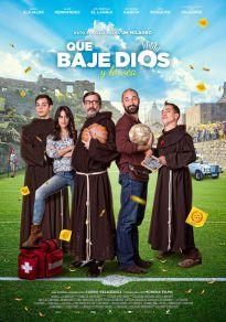 Cartel de la película Que baje Dios y lo vea