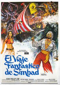 Cartel de la película El viaje fantastico de Simbad