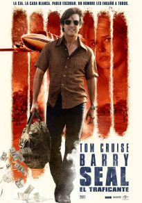 Cartel de la película Barry Seal: El Traficante