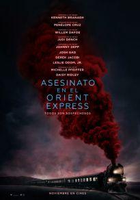 Cartel de la película Asesinato en el Orient Express