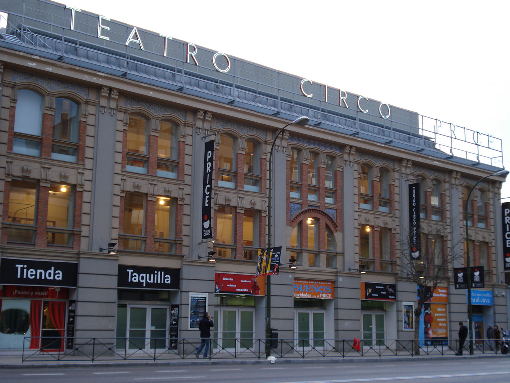 Teatro circo price madrid programaci n y venta de entradas for Entradas cine barcelona