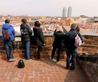 Barcelona desde las terrazas de Sta María del Mar