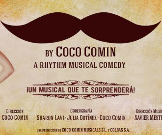 Moustache, The Rhythm Musical - Coco Comín-background