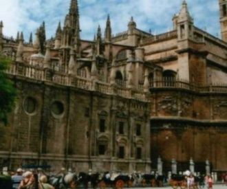 La Catedral de Sevilla-background