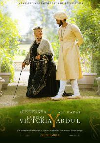 Cartel de la película La reina Victoria y Abdul