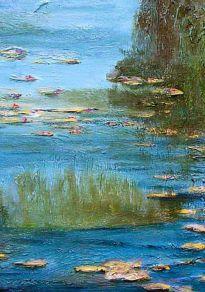 Cartel de la película Los Nenúfares de Monet