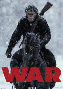 Cartel de la película La Guerra del Planeta de los Simios