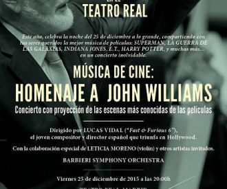 Música de Cine - Homenaje a John Williams
