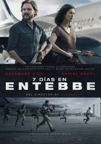 Cartel de la película 7 días en Entebbe