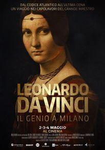 Cartel de la película Leonardo da Vinci, el genio en Milán