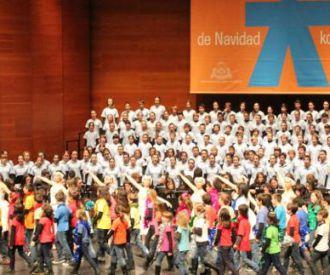 Concierto de Navidad del Orfeoi Txiki a favor de Unicef