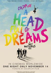 Cartel de la película Coldplay: A head full of dreams
