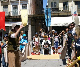 El arriero Claudio te guia por Segovia