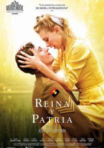 Cartel de la película Reina y patria