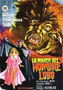 Cartel de la película La marca del hombre lobo