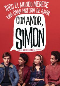Cartel de la película Con Amor, Simon