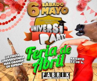Universiparty Feria de Abril