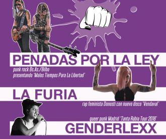 Ama la música, destruye el machismo: Penadas Por La Ley, La Furia y Genderlexx