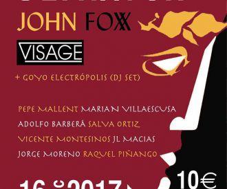 El Rapto de Europa (80' Party) - Tributo a Ultravox - John Foxx - Visage