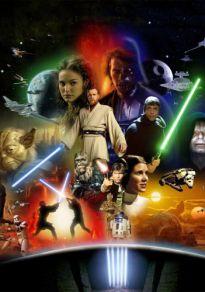 Cartel de la película Maratón Star Wars