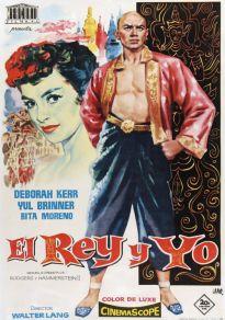 Cartel de la película El Rey y yo