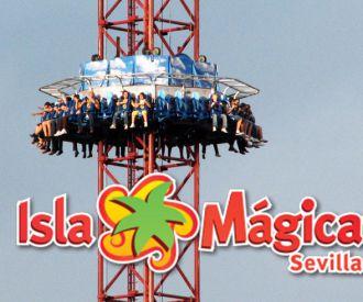 Isla Mágica Sevilla-background