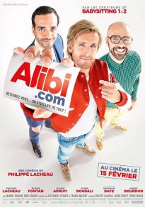 Cartel de la película Alibi.com - Agencia de Engaños