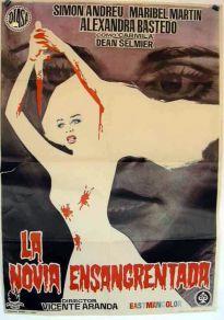 Cartel de la película La novia ensangrentada