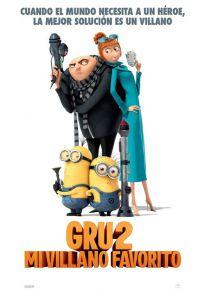 Cartel de la película Gru 2. Mi villano favorito