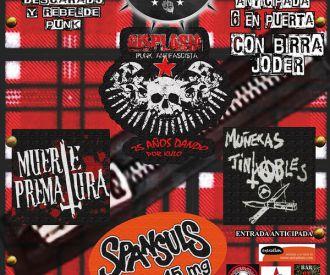 A New Punk Fest: Displasia, Muerte Prematura, Muñecas Jintxables, Spansul