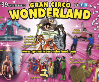 Circo Wonderland-background