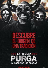 Cartel de la película La primera purga: La noche de las bestias