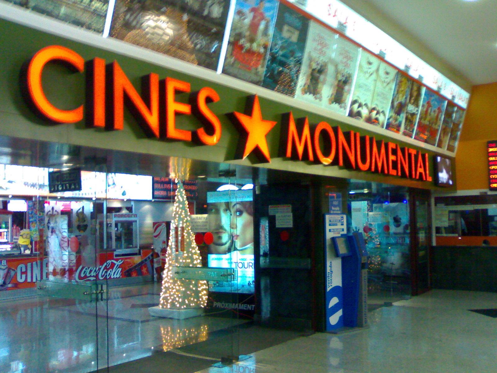 Cartelera De Cines Monumental Almer A