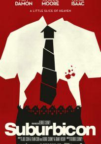 Cartel de la película Suburbicon