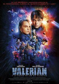 Cartel de la película Valerian y la ciudad de los mil planetas
