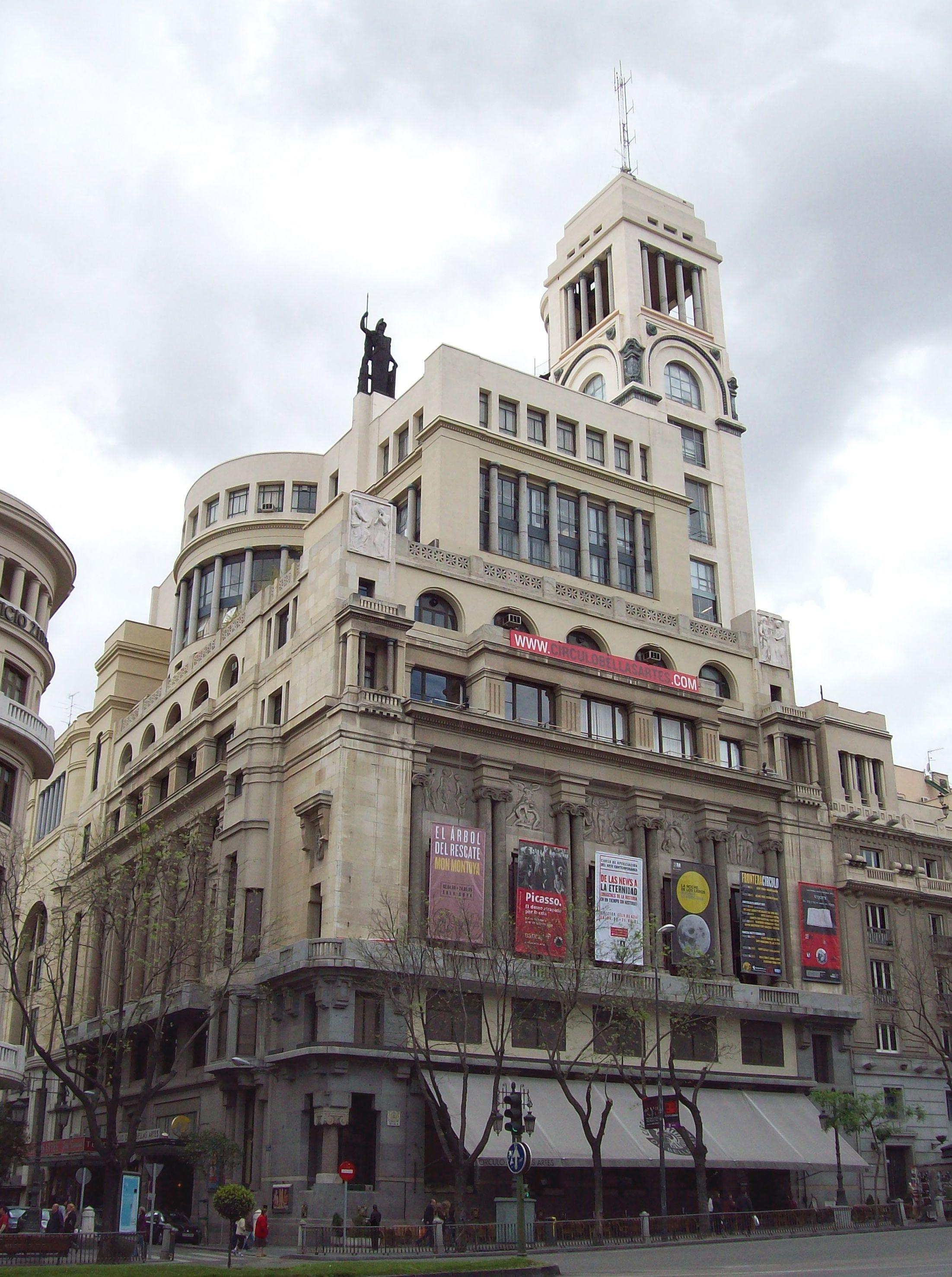Cartelera de cine estudio c rculo de bellas artes madrid - Cines gran casa cartelera ...
